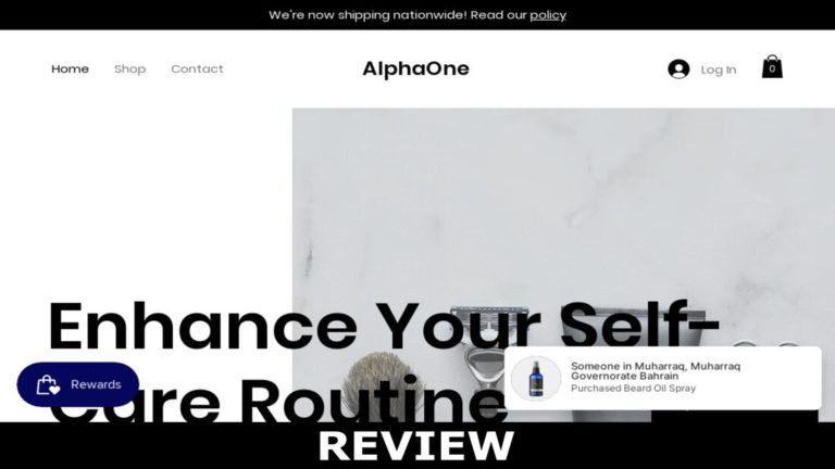 Alphaone.store Reviews